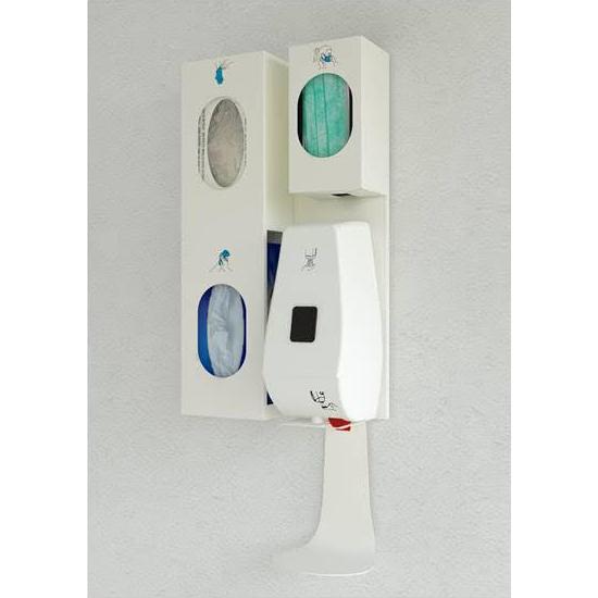 dispenser muro igienizzante covid 19