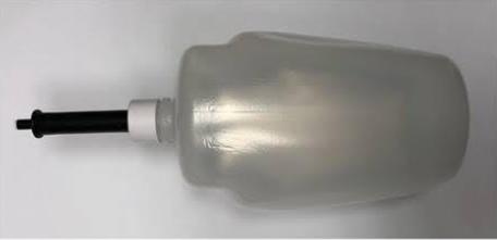 flacone gel disinfettante