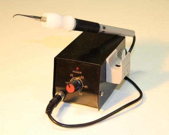 spatola elettrica ceratore manipolo